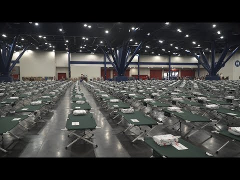 The Red Cross is helping those devastated by the flooding from Hurricane Harvey in Houston Texas