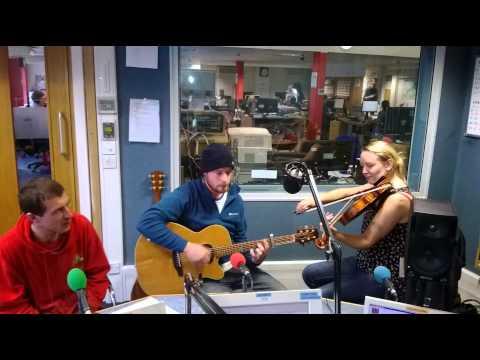 Buffalo Huddleston performing live on BBC Radio Guernsey