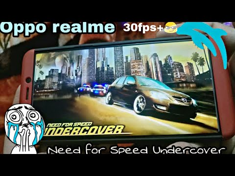 Nfs Undercover || Dolphin Emulator Android|| In Oppo Realme1 😎😊