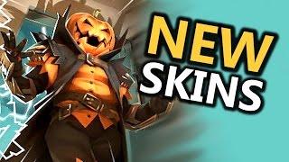 9 NEW Halloween Skins? Sneak Peek (Overwatch)