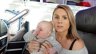 12 HOURS ON A PLANE WITH A BABY!!