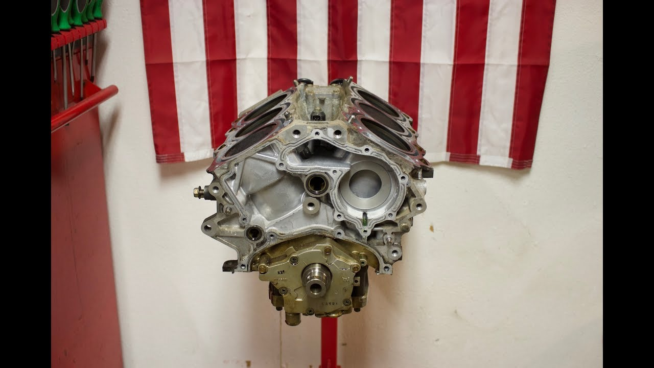 Nissan 350z Engine Build Part 10, Head Removal