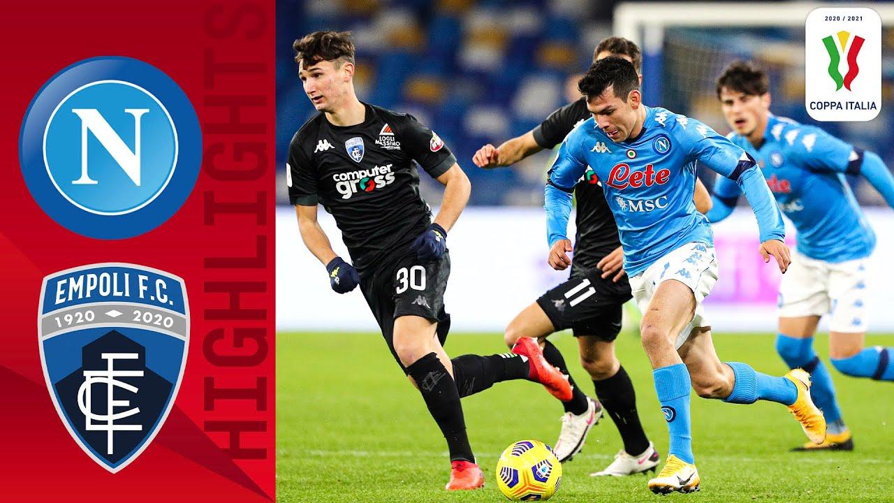 🔴 Napoli v Empoli | Full Match LIVE | Coppa Italia 2020/2021 | Serie A TIM