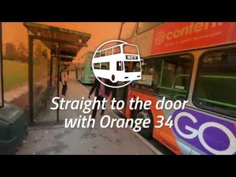 Nottingham City Transport: Straight to the Door with Orange 34