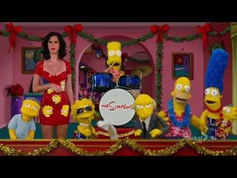 Katy Perry on the Simpsons Muppet Parody (Christmas Special)