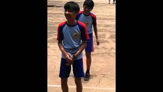 Senam aerobic SMPN 42 Bandung kelas 9 6 (Adira,Ilham,Osa)