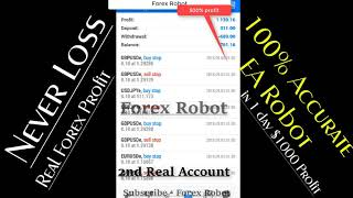 💥 Deposit $60 💥Withdraw  $1054 profit in One Month || 💥100% Accurate Forex Robot Vpro-10 💥BOOM