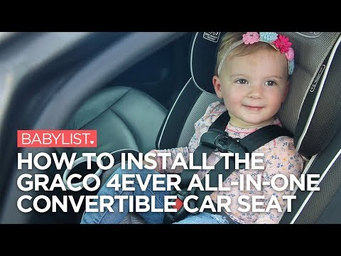 Permalink to How To Install Graco 4ever All-in-one Convertible Car Seat