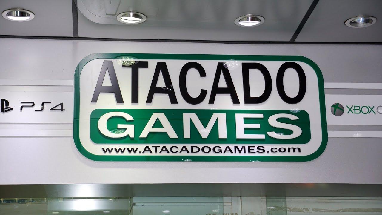 1932de0a3 Distribuidora e Loja ATACADO GAMES - YouTube