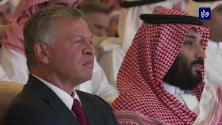 الملك عبدالله يلتقي بن سلمان - (23-10-2018)