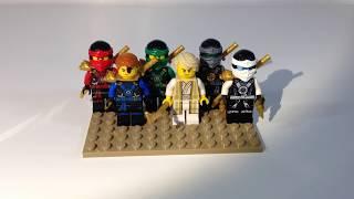 Lego Ninjago 2016 Custom Minifigure Showcase!!