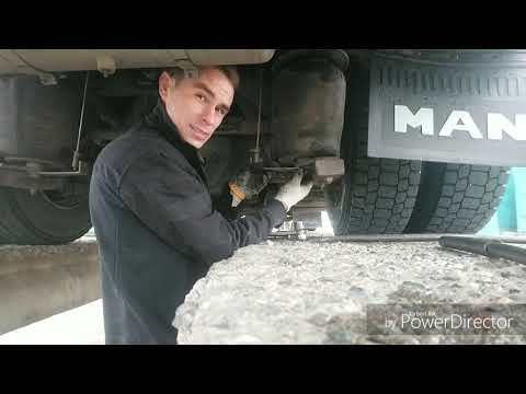 Лёгкая замена подушки пневмоподвески Man L2000