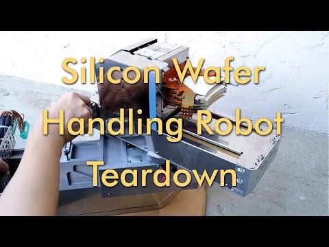 Wafer Transfer Robot Teardown and Experimenation - BrendaEM
