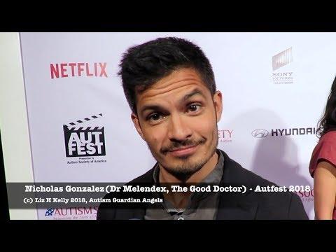 The Good Doctor Nicholas Gonzalez describes Dr Shaun Murphy at Autfest 2018