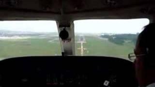 cessna citation iii landing at guarulhos