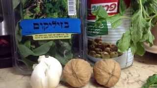 Cоус песто по диете Дюкана-этап Закрепление.Pesto sauce according to Dukan Diet-Consolidation Phase