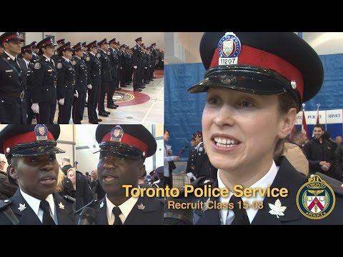 Meet the Newest @TorontoPolice Recruits