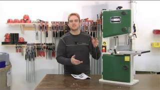 Rikon 10 Inch Bandsaw Product Tour