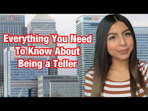 Working As A Bank Teller | What Is It Like? 💰