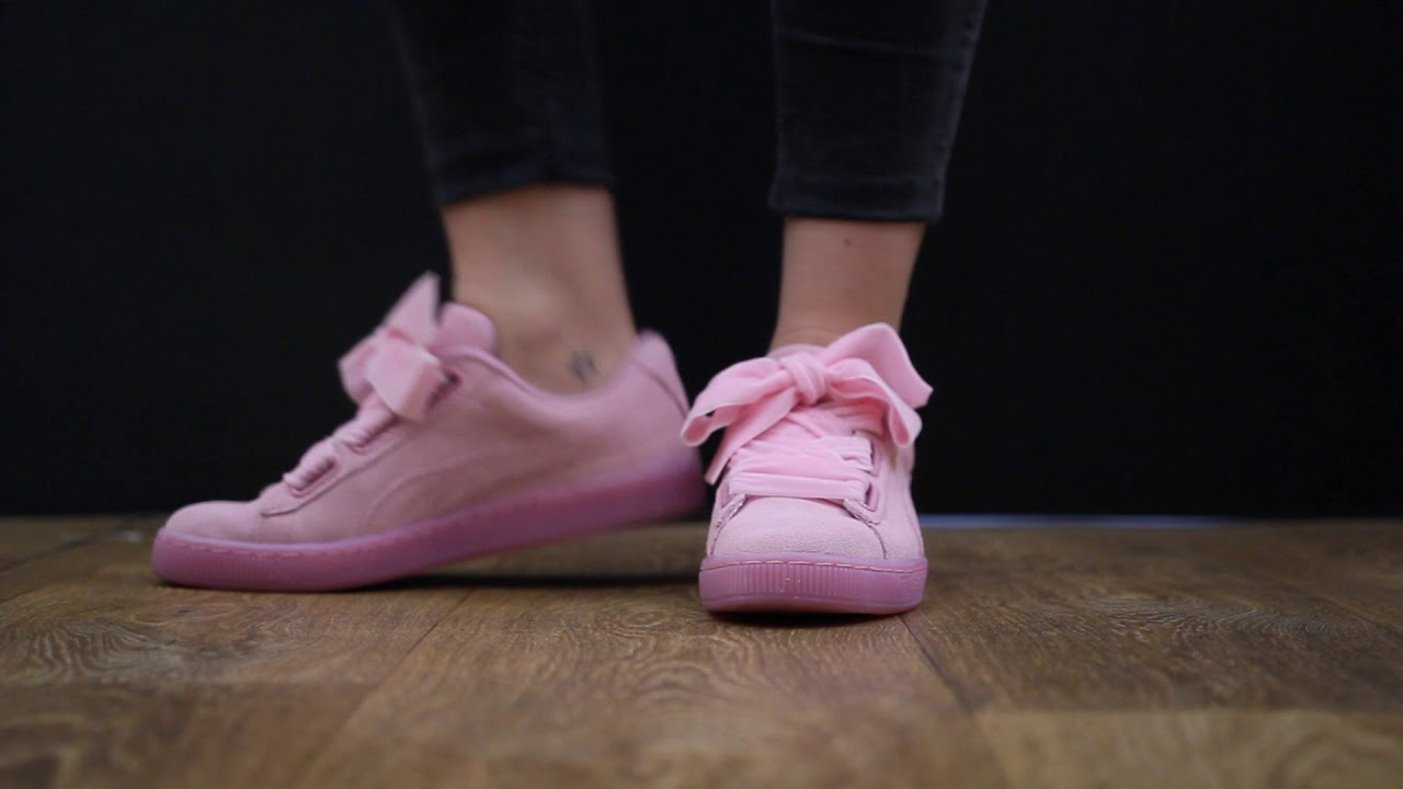 low priced 51c74 ccd22 ONFEET Puma Suede Heart Reset