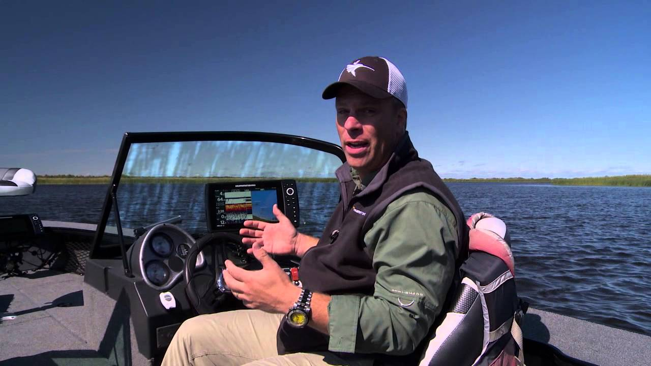 jeff kolodzinski introduces the humminbird helix 10 si sonar and, Fish Finder