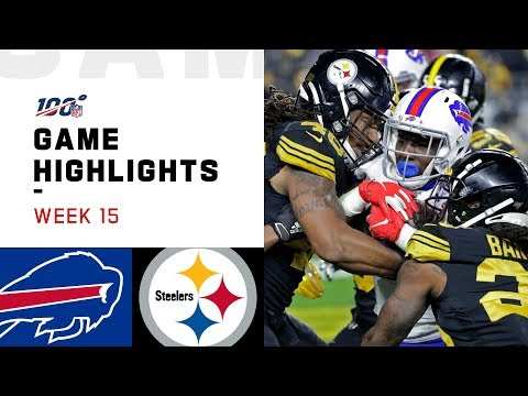 Bills vs. Steelers Week 15 Highlights | NFL 2019