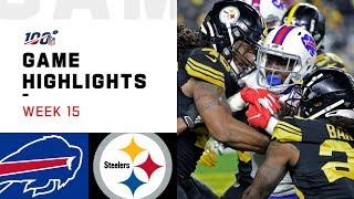 Bills vs. Steelers Week 15 Highlights