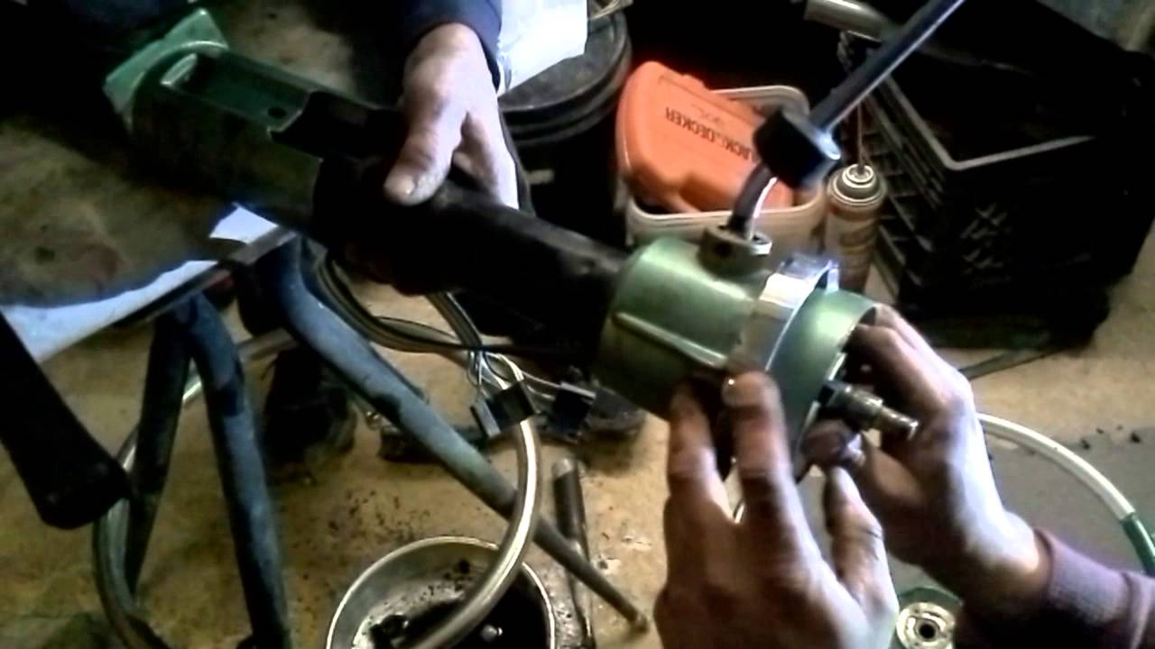 1964 steering column install - YouTube