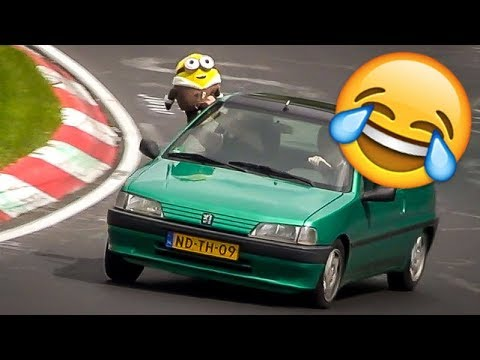 Funny Moments At The Nürburgring - Nordschleife Crazy & Funny Compilation Video
