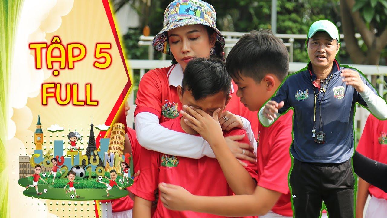 Hồng Sơn bùi ngùi chia tay với cầu thủ vì gia cảnh mà không thể đi tiếp | Cầu Thủ Nhí 2019 | Tập 5