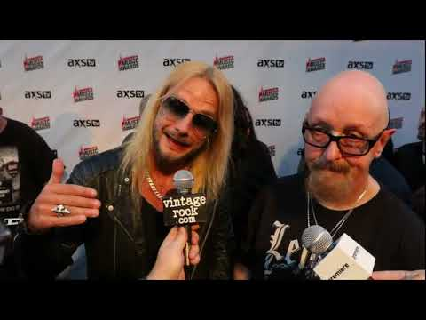 2017 Loudwire Music Awards: Rob Halford & Richie Faulkner (Judas Priest) Interview