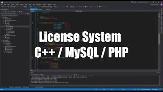 [Installation] License System | PoC | C++/MySQL/PHP Mp3