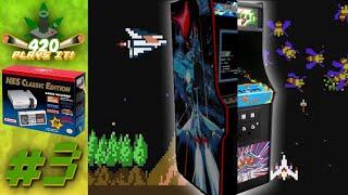 420 Plays It! - NES Mini #3 : Gradius + Galaga