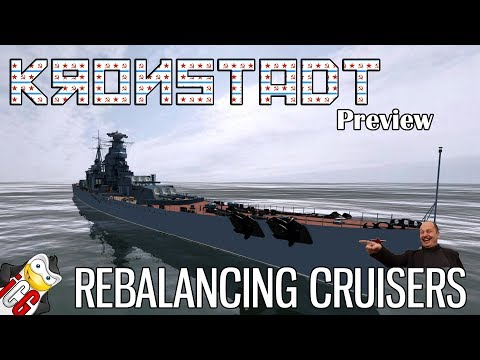 World of Warships - Kronstadt Sneak Peek - Rebalancing Cruisers [DATAMINE]