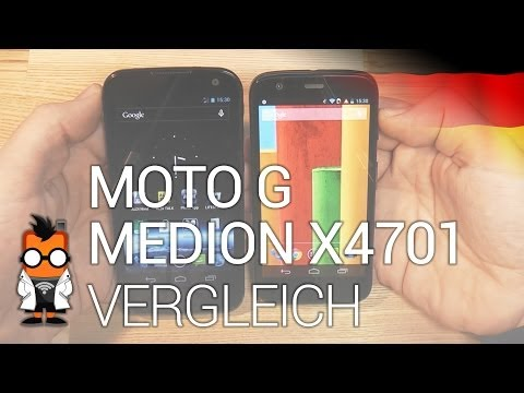 Motorola Moto G vs. Medion Life X4701 - Günstige Quadcore-Smartphones im Vergleich [DEU]