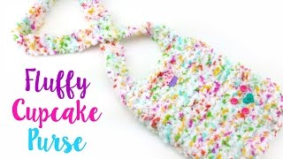 How To Knit the Fluffy Cupcake Purse, Episode 421