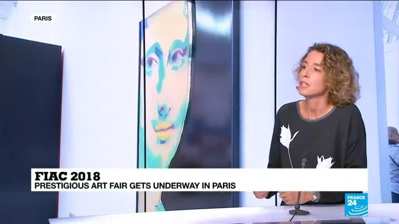 فرانس 24:FIAC 2018: Prestigious art fair gets underway in Paris