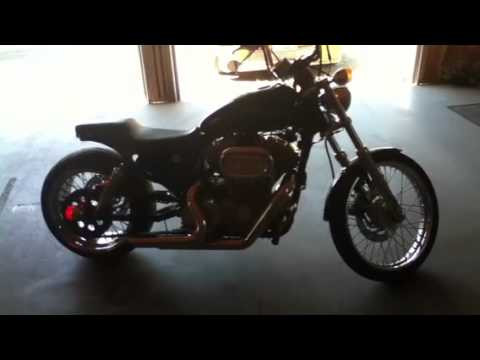 Fat Tire Sportster For Sale 250 Tire Kit Youtube