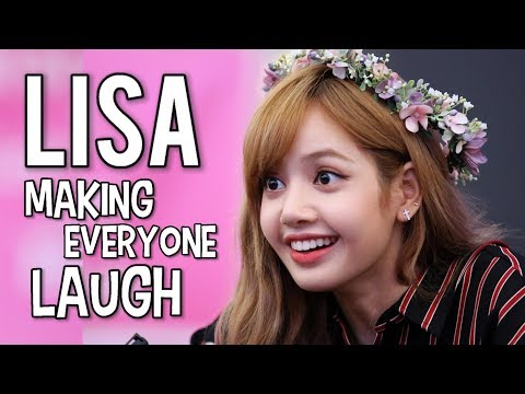 LISA MAKING EVERYONE LAUGH! #AceLalisaDay