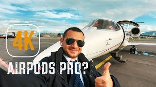 EXTREME Apple AIRPODS PRO Noise Cancelling TEST. AirPods PRO for PILOTS?