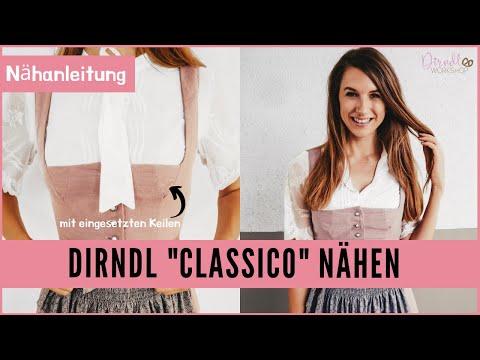 Dirndl nähen Anleitung - Dirndl Classico