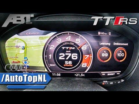500HP Audi TTRS-R ABT 2.5 TFSI 0-276km/h ACCELERATION & LAUNCH CONTROL By AutoTopNL