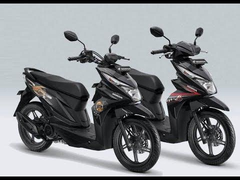 Warna Baru New Honda Beat Street Esp And Beat Esp 2018 Makin Youtube