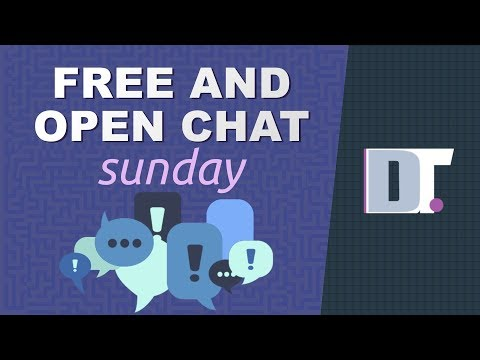 Free And Open Chat Sunday (December 9, 2019)