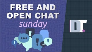 Free And Open Chat Sunday (December 9, 2019) thumbnail
