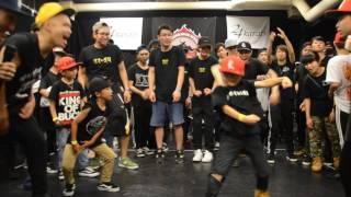 SEMI FINAL[2]   MAITO vs Lil Wild Twiggz aka Kid Loopz   EBS JAPAN 2017【KIDS】