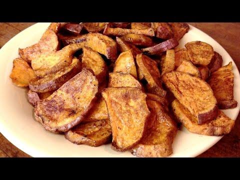 Oven Roasted Sweet Potato Wedges - GardenFork Cooks