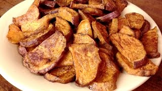Oven Roasted Sweet Potato Wedges - Gardenfork.tv Cooks