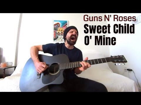 Sweet Child O' Mine - Guns N' Roses [Acoustic Cover By Joel Goguen]
