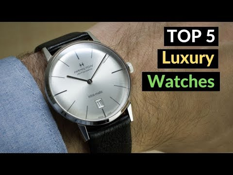 Top 5 Best Budget Luxury Watches For Men 2019 On Amazon